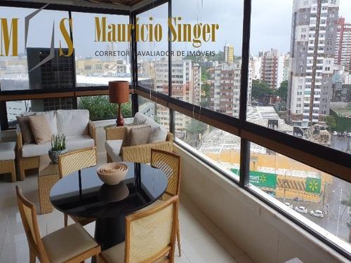Apartamento 4 Suítes Para Venda Rua Plínio Moscoso - Jd. Apipema, Salvador-bahia - Ap00314 - 68144385