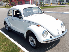 Volkswagen Vw Fusca Branco Ano 1982 Modelo 1982
