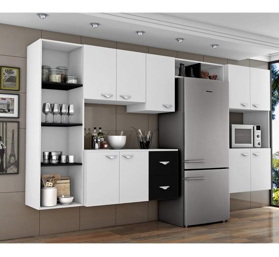 Cozinha Completa 5 Peças 5 Portas Anabela Com Hj