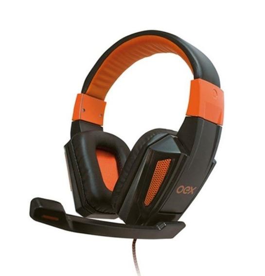 Headset Oex Combat Hs205 Alta Definição Extra Conforto