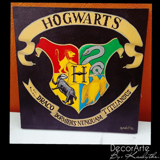 Cuadro Decorativo De Hogwarts, Harry Potter