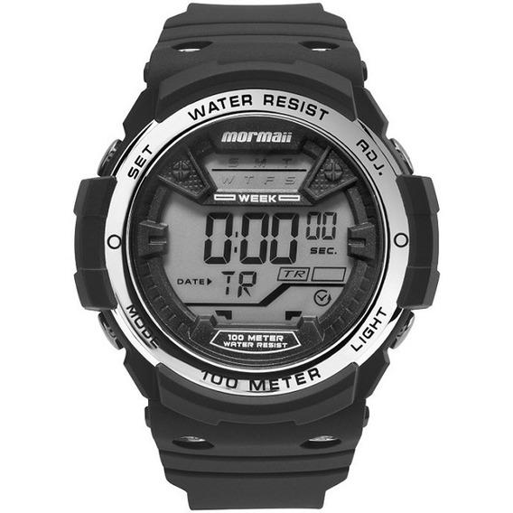 Relógio Mormaii Masculino Mo3500b/8k C/ Garantia E Nf