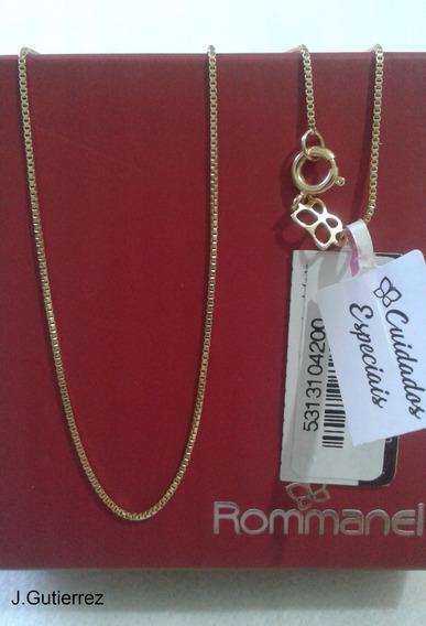 Colar Rommanel Veneziana 42cm (531310) Lindo E Resistente