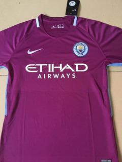 Camisa Do Manchester City Roxa Linda
