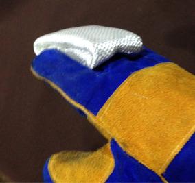 Super Dedal Dedeira Para Soldador Tig (grande) Mais Conforto