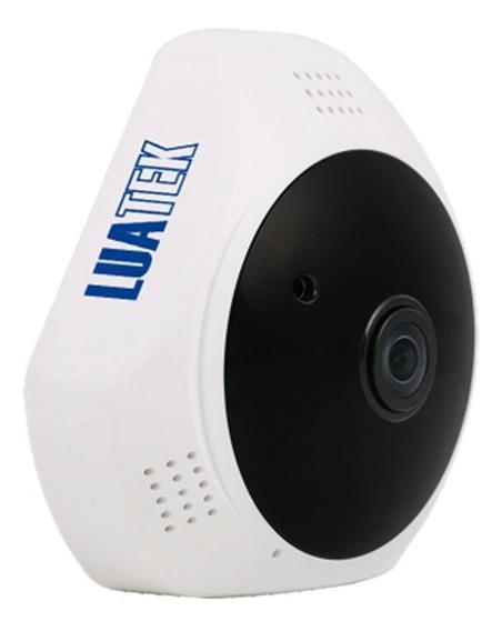 Mini Camera Panoramica Segurança 3d Wifi 360° 1.3mp