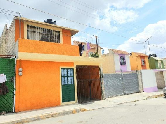Casa En Venta En Sahagún Hidalgo, De 4 Habitaciones.