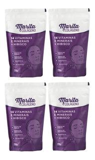 4 Colágeno Marita Hidrolisado Original Pronta Entrega