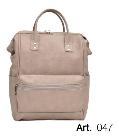 Mochila/maletin De Ecocuero,varios Colores,excelente Calidad