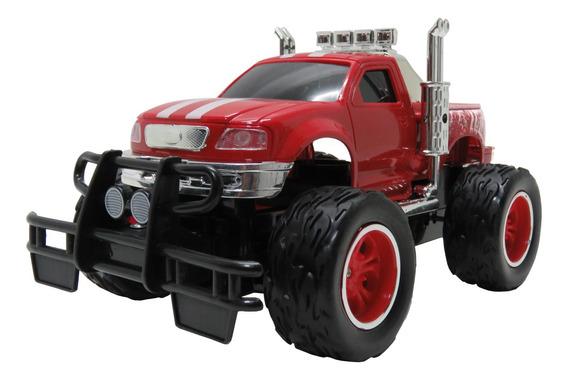 Carrinho Controle Remoto Recarregável Camionete Pickup Vm