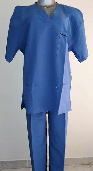 Uniforme Médico Mono Quirúrgico Completo Tela Anti-fluido L