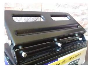 Perforadora Ajustable 3 Huecos Uso Pesado Kw-trio 9630