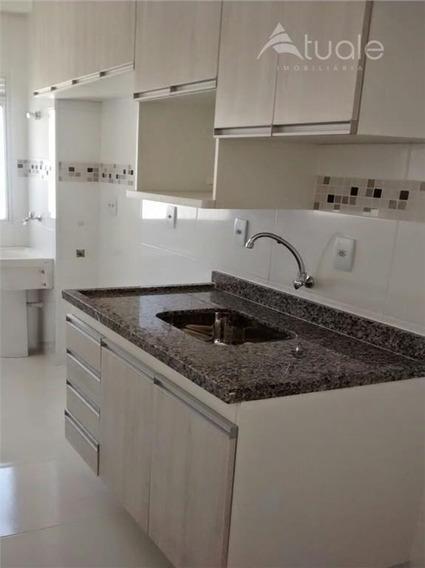 Apartamento Com 2 Dormitórios À Venda, 53 M² - Jardim Santa Izabel - Hortolândia/sp - Ap0985