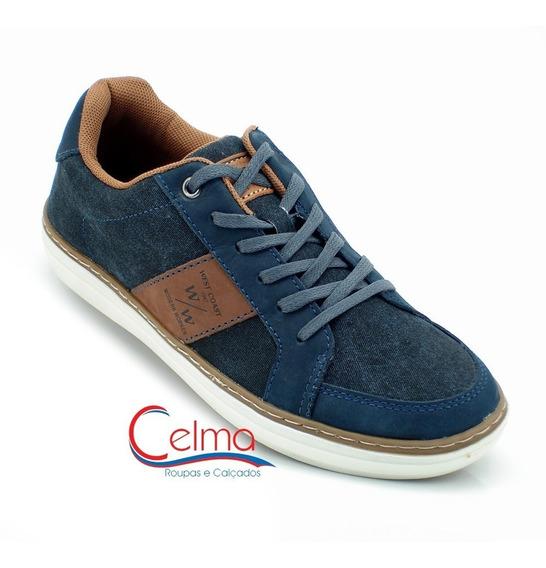 118642 Sapatênis Masculino West Coast Jeans