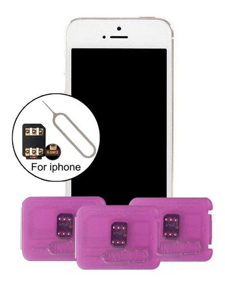 Rsim 12+ Desbloqueador iPhone Todos! Frete Gratis Ios 13 4g