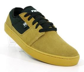 Tênis Dc Shoes Tonik S Couro Areia