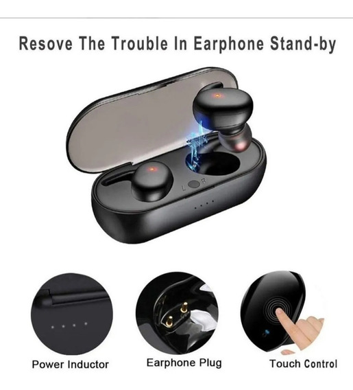 Novo Fone De Ouvido Bluetooth Sem Fio Y30 Tws