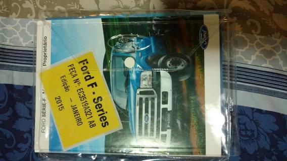 Manual Do Proprietário Ford F4000 2015