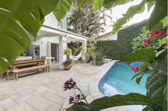 Casa Com 4 Dormitórios À Venda, 390 M² Por R$ 5.050.000 - Jardim Paulistano - São Paulo/sp - Ca0887