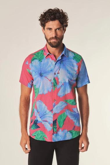 Camisa Mc Hibisco Medio Reserva