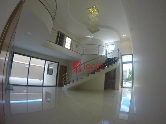 Casa Residencial À Venda, Condomínio Figueira I, São José Do Rio Preto. - Ca0911