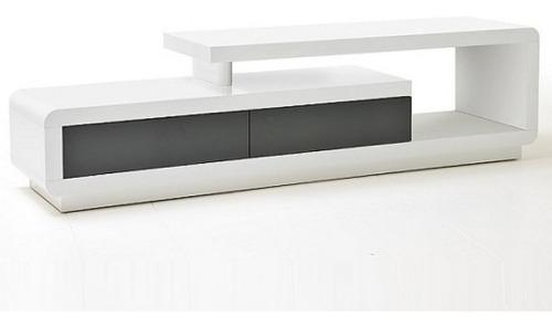 Mueble Tv Ref: Artaban 170 Cm En Madera Lacada Poliuretano