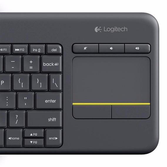Teclado Logitech K400 Ç Abnt Sem Fio Smart Tv Celular Tablet