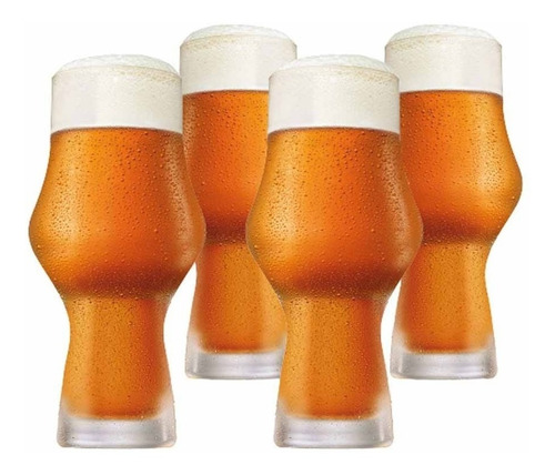 Imagem 1 de 3 de Jogo Ritzenhoff Copo Cerveja Kit Craft Beer Ipa 495ml 4 Pcs