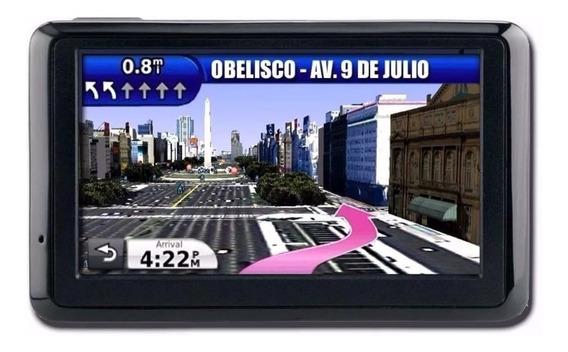 Actualizar Mapa Argentina + Radares P/ Gps Garmin Nuvi Drive