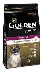 Ração Golden Gatos Adulto Castrado Frango 3 Kg