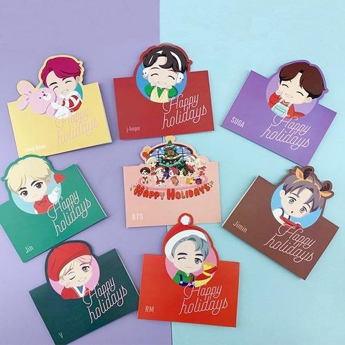 Imagen 1 de 4 de Carta Postal Bts Bt21 Kpop 2019 Importadas Corea Exclusivas