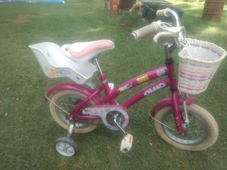 Bicicleta Para Niña O Niño. Rodado 12