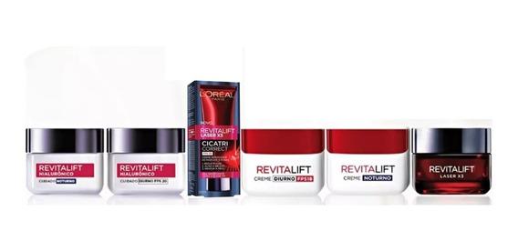 Kit Loreal Revitalift (hialurônico+laser X3) - 06 Produtos