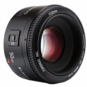 Lente Ef 50mm F1.8 Yongnuo Canon T5i,5d, 7d, 60d, 70d E Mais