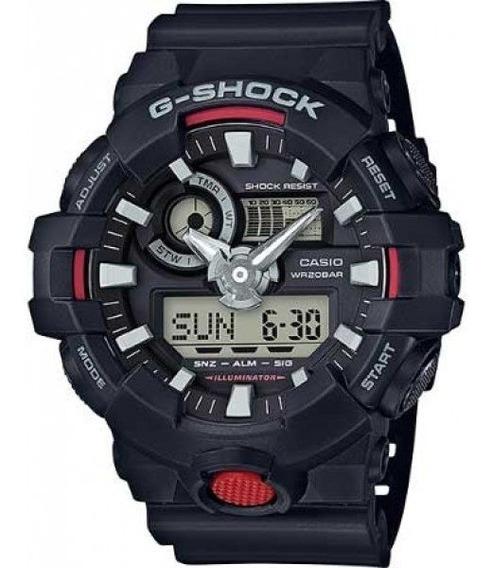 Relógio Casio G-shock Preto Masculino Ga-700-1adr 5522