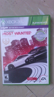 Mos Wanted Need For Speed Para Xbox 360
