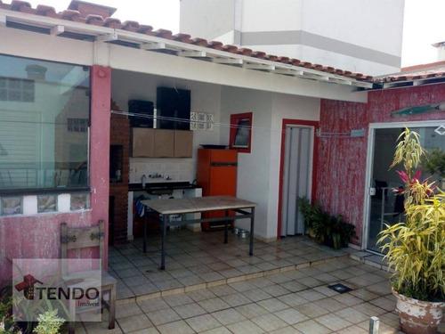 Imagem 1 de 24 de Imob01 - Cobertura 173 M² - 3 Dormitórios - 2 Suítes - Osvaldo Cruz - São Caetano Do Sul/sp - Co0016