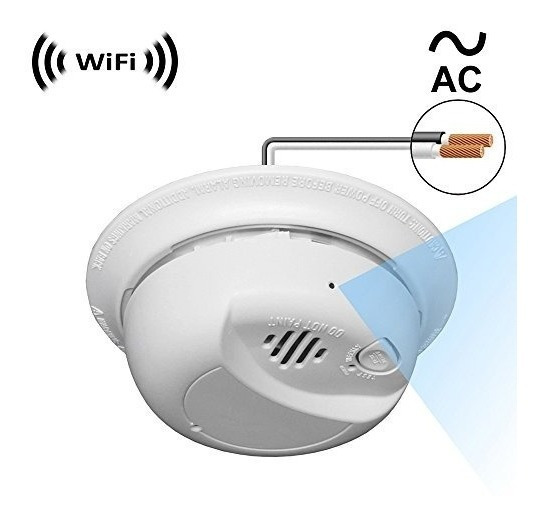 Wf-404hac: Cámara Espía Con Señal De Wifi Ip Digital, Grabac