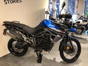 Triumph Tiger 800 Xcx Con Maletas De Serie 800cc 2018 0km