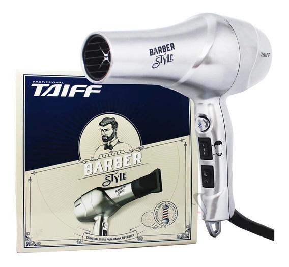 Secador Taiff Barber Style Cabelo E Barba 1700w 110v