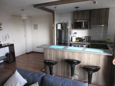Departamento Metro Parque Ohiggins 2 Dormitorios 1 Baño 46 Mt2