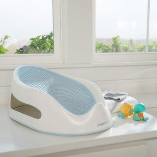 Soporte Para El Baño Del Bebé Angelcare Azul Y Rosado