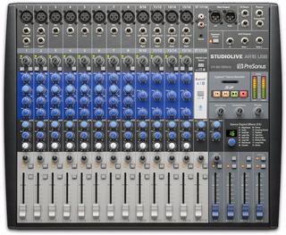 Presonus Studiolive Ar16 Consola 18 Canales Con Placa