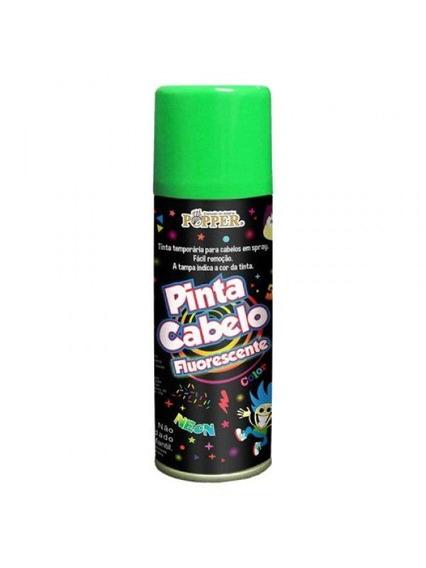 Tinta Pinta Cabelo Fluorescente Popper - Cores Verde