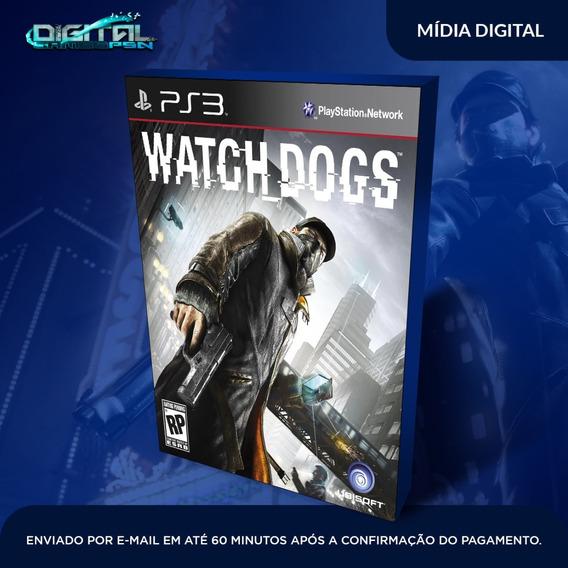 Watch Dogs Ps3 Psn Midia Digital Envio Já! Original