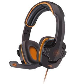 Fone Headset Target Oex Usb Hs203 Preto/laranja 506401 25462