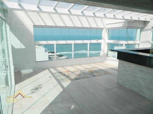 Imagem 1 de 30 de Apartamento Com 3 Dormitórios À Venda, 140 M² Por R$ 1.300.000,00 - Centro - Mongaguá/sp - Ap2426