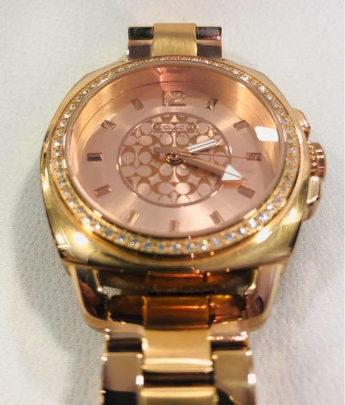 Relógio Coach Rose Gold