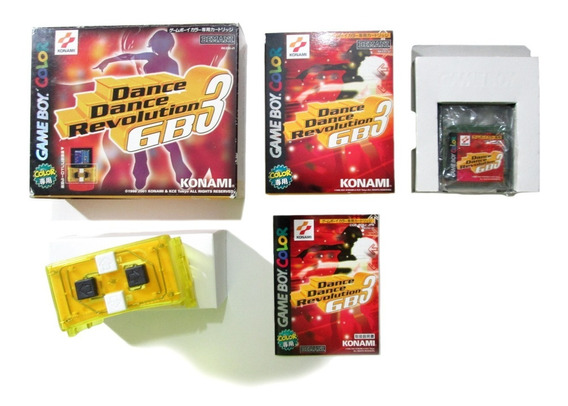Dance Dance Revolution Gb 3 Original Nintendo Game Boy Color