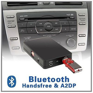 Auto Estéreo Bluetooth A2dp Cd Changer Adaptador-mazda 2